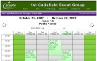 1st Catisfield Scout Group - Calendar